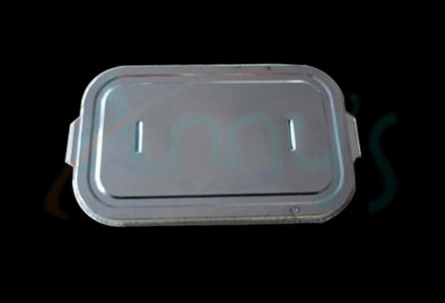 disposable aluminum foil lid for foil pans or foil contaners