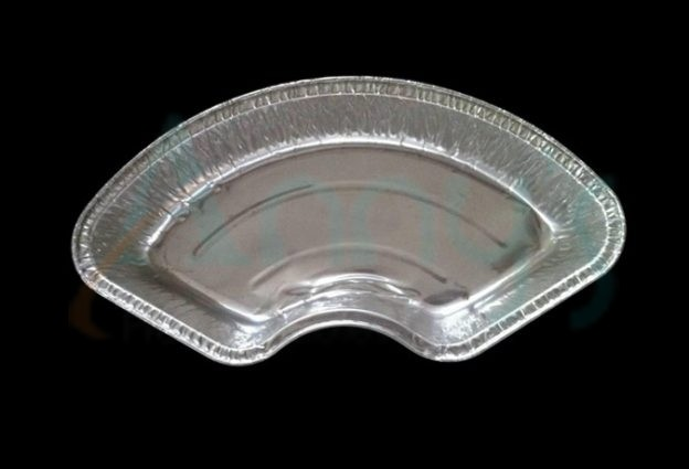 disposable aluminum foil baking mold, foil cake tray