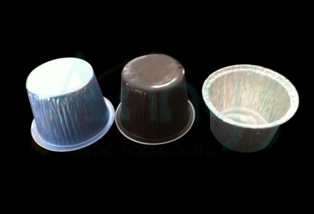 aluminum foil disposable cup for cupcake, individual foil muffin baking cup